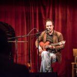 Adam Rut na pódiu
